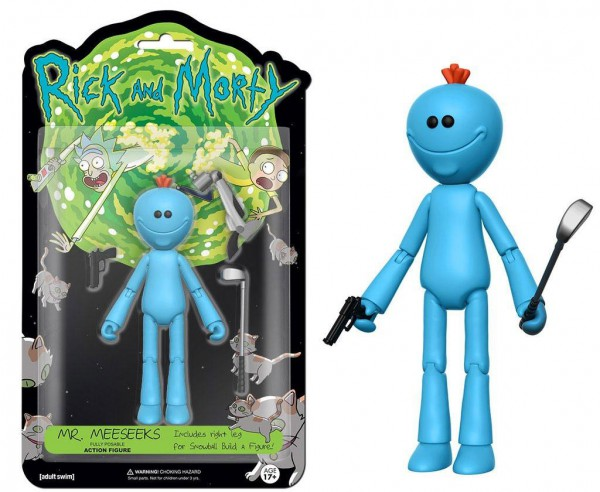 Rick & Morty Actionfigur Mr. Meeseeks 13 cm
