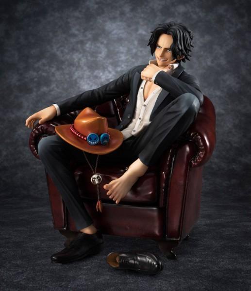One Piece Excellent Model P.O.P S.O.C PVC Statue 1/8 Portgas D. Ace 14 cm