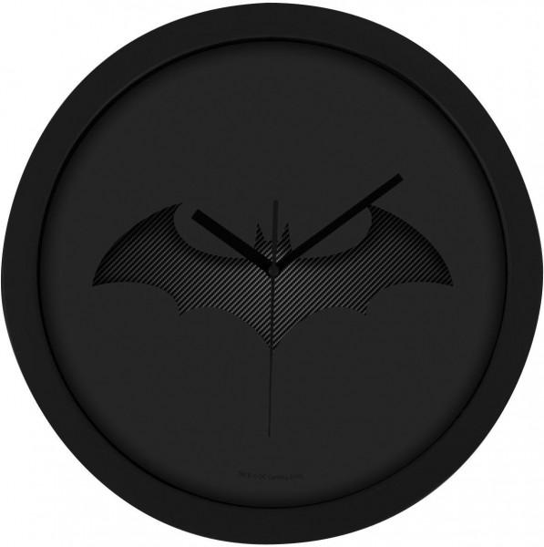 Batman Wanduhr Black Batarang