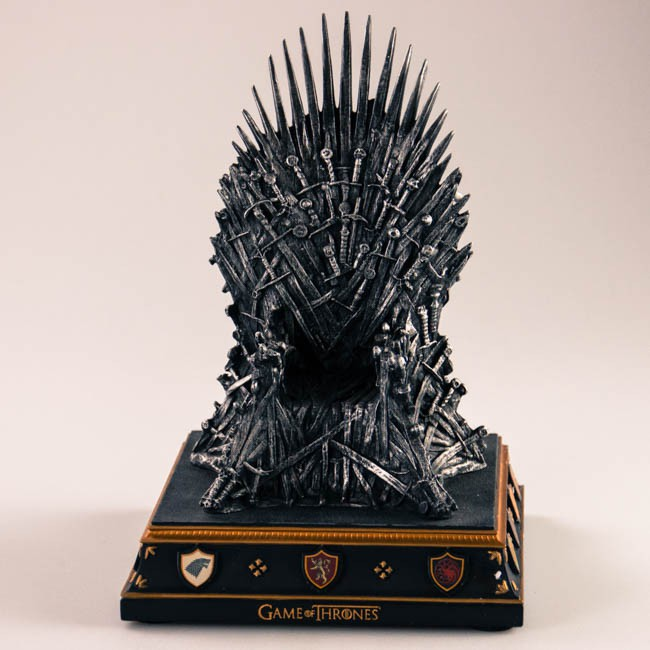 Game of Thrones Buchstütze Eiserner Thron
