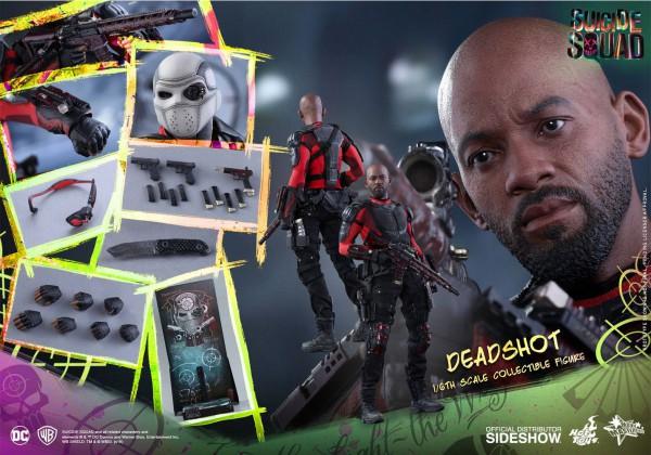 Suicide Squad Movie Masterpiece Actionfigur 1/6 Deadshot 32 cm
