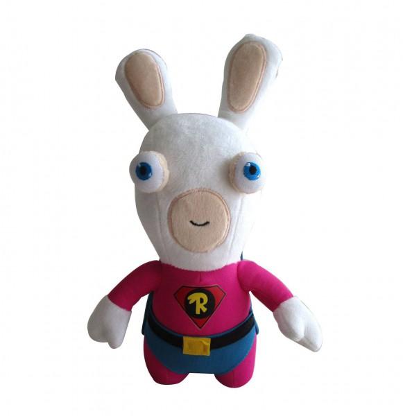 Raving Rabbids Plüschfigur Superhero 28 cm