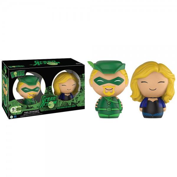 Green Arrow Dorbz Vinyl Figuren 2er-Pack Green Arrow & Canary 8 cm