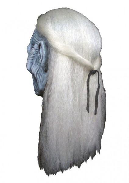 Game of Thrones Latex-Maske mit Kunsthaar White Walker