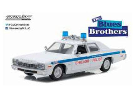Blues Brothers Diecast Modell 1/24 1975 Dodge Monaco