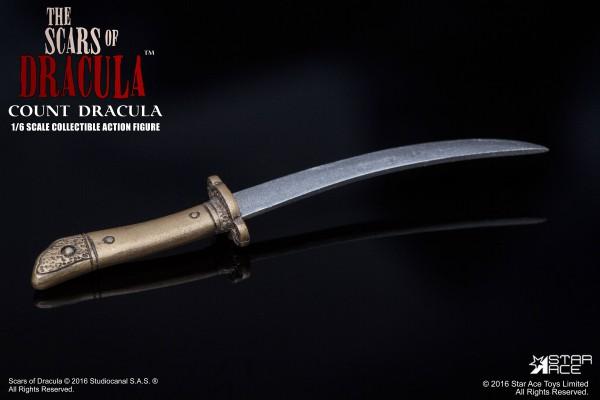 Dracula Nächte des Entsetzens Actionfigur 1/6 Count Dracula (Christopher Lee) 30 cm