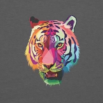 Neon Tiger Head
