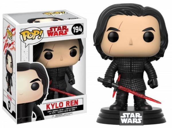 Star Wars Episode VIII POP! Vinyl Wackelkopf-Figur Kylo Ren 9 cm