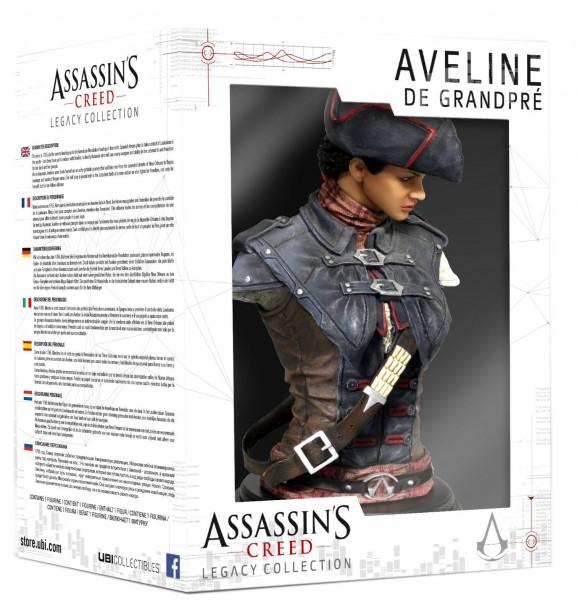 Assassin's Creed Legacy Collection Büste Aveline De Grandpré 19 cm --- BESCHÄDIGTE VERPACKUNG
