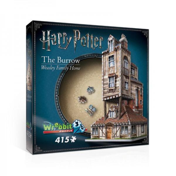 Harry Potter 3D Puzzle Fuchsbau (Haus der Weasleys)