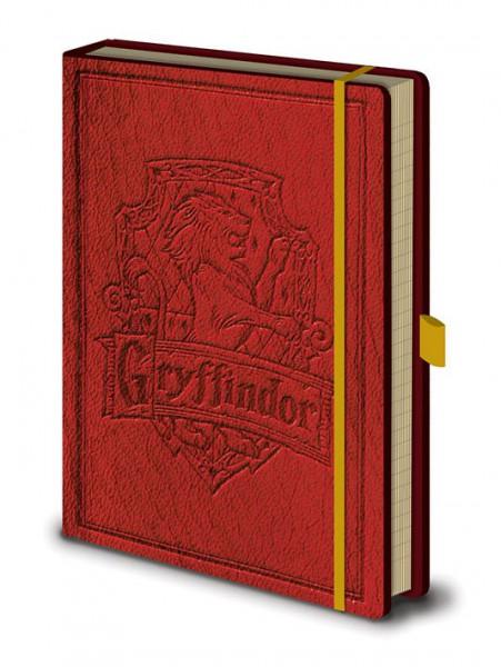Harry Potter Premium Notizbuch A5 Gryffindor