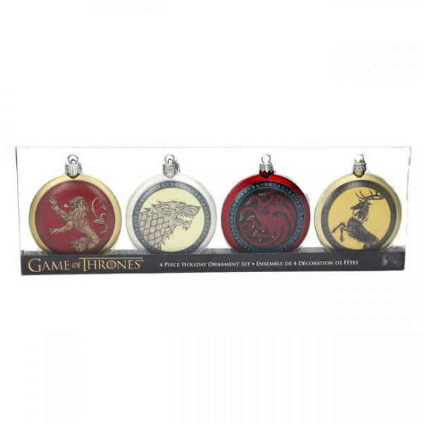 Game of Thrones Christbaumschmuck Set