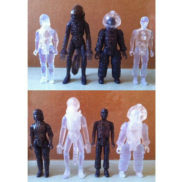 Alien ReAction Actionfigur Deep Space Mystery Egg 10 cm