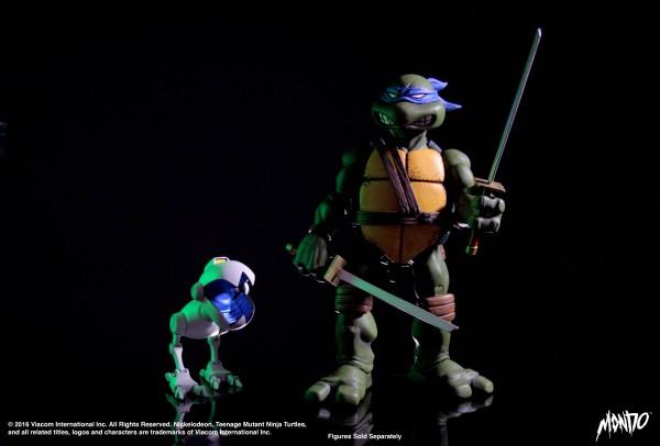 Teenage Mutant Ninja Turtles Actionfiguren Doppelpack 1/6 Mousers 10 cm