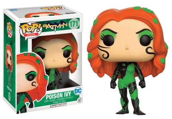Batman POP! Heroes Figur Poison Ivy (New 52) 9 cm