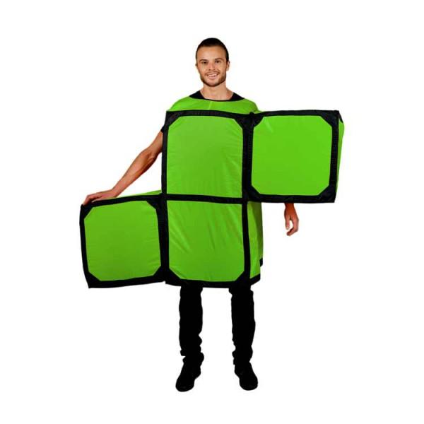 """Tetris Kostüm """"S""""-Block, Unisex"""