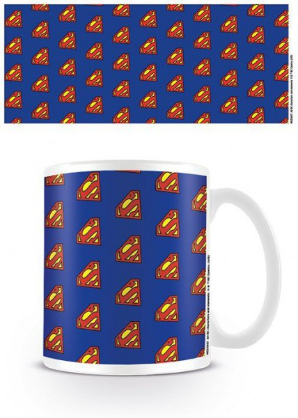 DC Originals Tasse Superman Logo Pattern