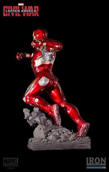 Captain America Civil War Legacy Replica Statue Iron Man Mark XLVI 50 cm