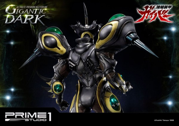 Guyver The Bioboosted Armor Statue Gigantic Dark 87 cm