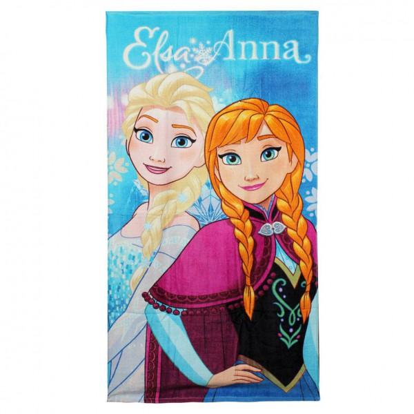 Die Eiskönigin Völlig unverfroren Handtuch Elsa & Anna II 140 x 70 cm
