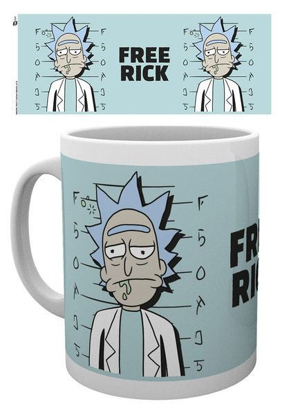 Rick and Morty Tasse Free Rick