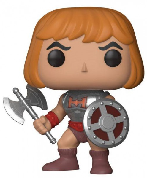 Masters of the Universe POP! Television Vinyl Figur Battle Armor He-Man 9 cm