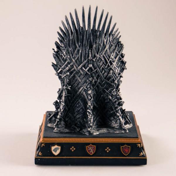 Game of Thrones Buchstütze Eiserner Thron