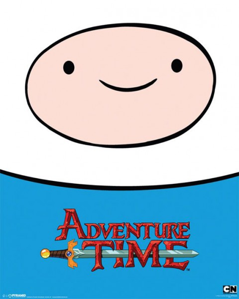 Adventure Time Poster Set Finn 40 x 50 cm (5)