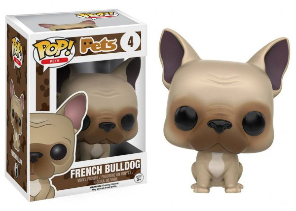 Funko POP! Pets Vinyl Figur French Bulldog 9 cm