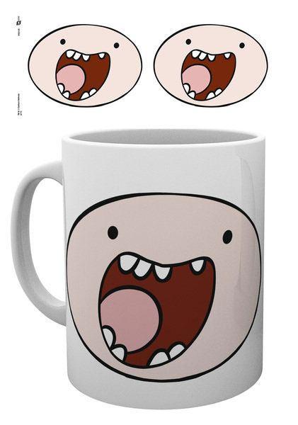 Adventure Time Tasse Finn Face
