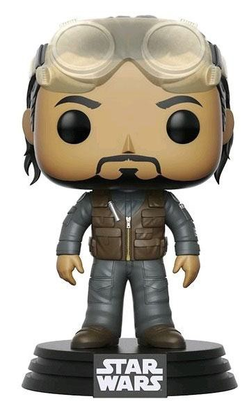 Star Wars Rogue One POP! Vinyl Wackelkopf-Figur Bodhi Summer Convention Exclusive 9 cm