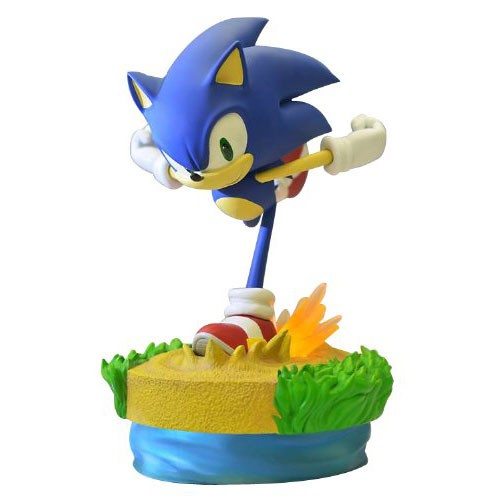 Sega - Sonic the Hedgehog: Modern Sonic Statue 15""