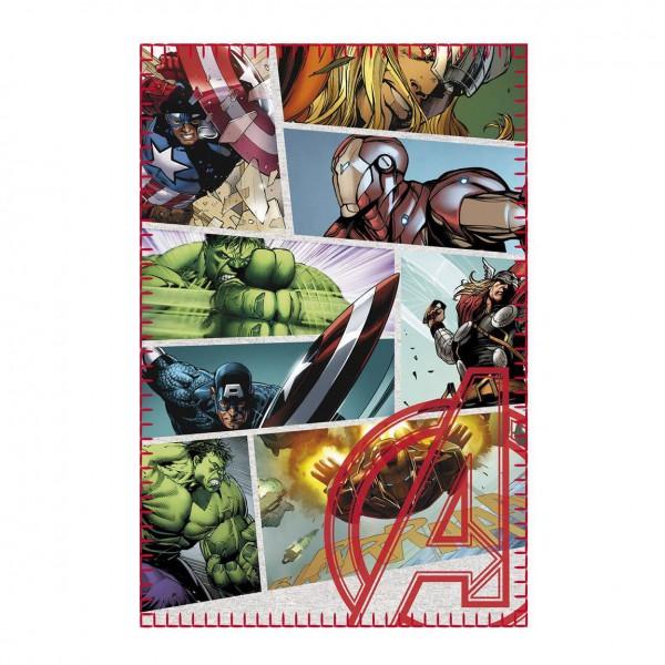Marvel Comics Fleecedecke Avengers 100 x 150 cm