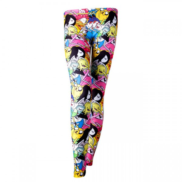 Adventure Time All Over Print Damen Legging