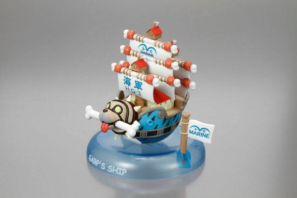 One Piece Yura Serie Wobbling Pirate Ship Collection 6 cm Sortiment (6)