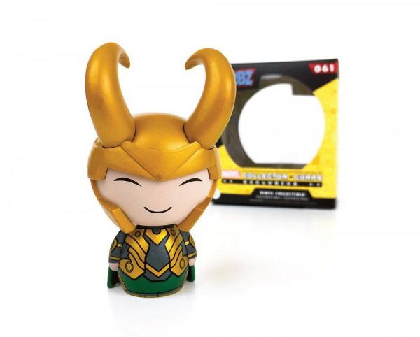 Marvel Comics Vinyl Sugar Dorbz Vinyl Figur Loki with Helmet 8 cm