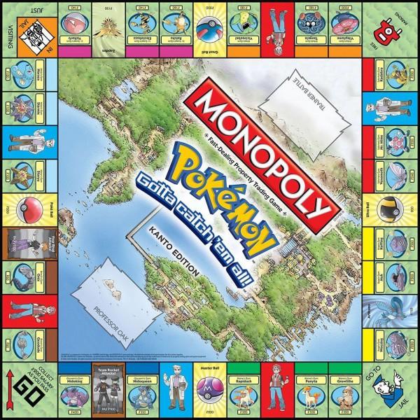 Pokemon Brettspiel Monopoly *Englische Version*