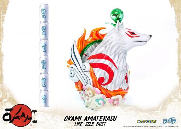 Okami Büste 1/1 Amaterasu 67 cm