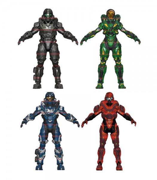 Halo 5 Guardians Serie 2 Actionfiguren 15 cm Sortiment (8)