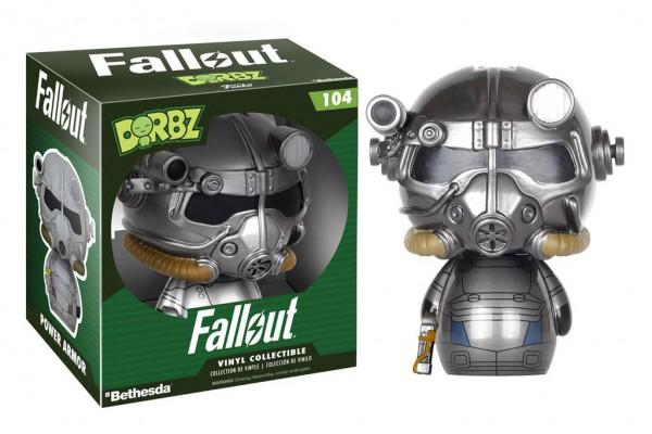 Fallout Vinyl Sugar Dorbz Vinyl Figur Power Armor 8 cm