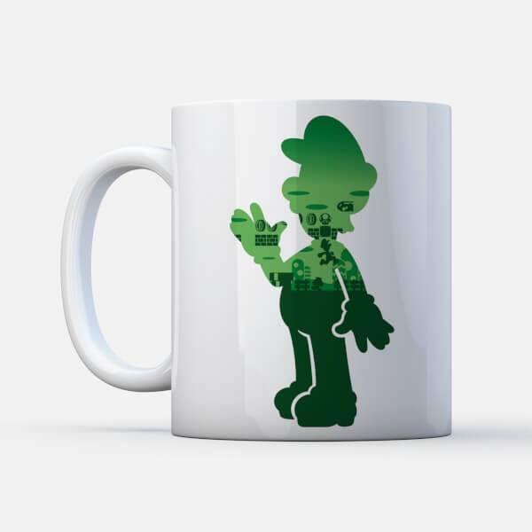 Nintendo Tasse Luigi Silhouette