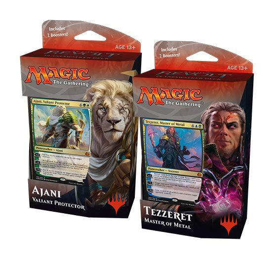 Magic the Gathering Aether Revolt Planeswalker Decks Display (6) englisch