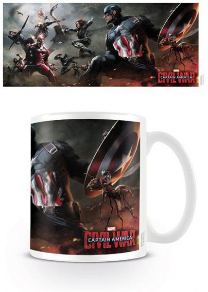 Captain America Civil War Tasse Battle
