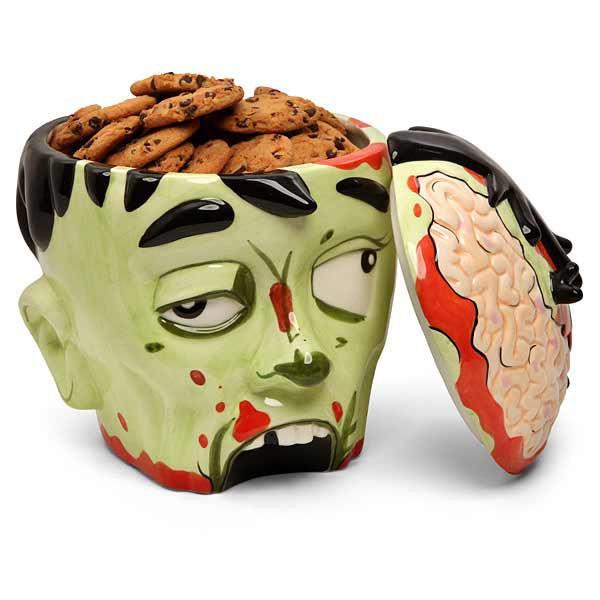 Zombie Kopf Plätzchendose