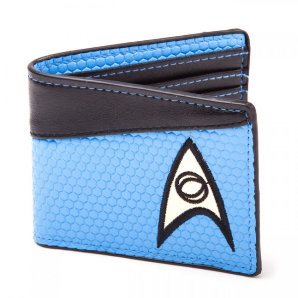 Star Trek Enterprise Science Geldbeutel, blau