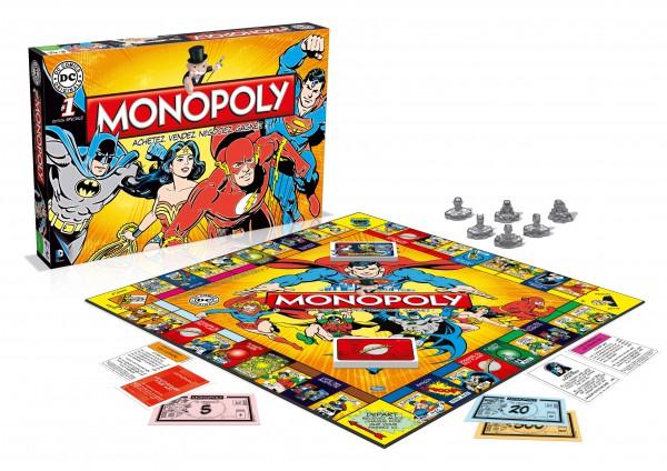DC Comics Brettspiel Monopoly *Französische Version*