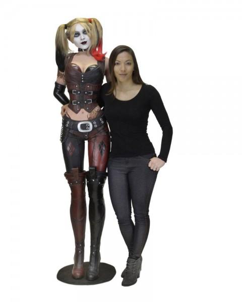 Batman Arkham City Life-Size Statue Harley Quinn (Schaumgummi/Latex) 180 cm