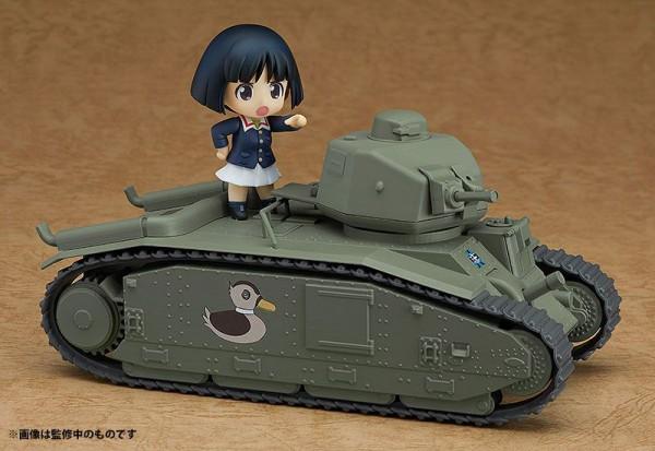 Girls und Panzer das Finale Nendoroid More Fahrzeug Char B1 bis 17 cm