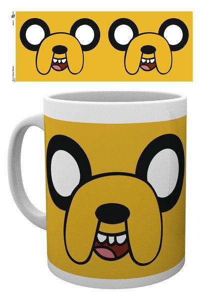 Adventure Time Tasse Jake Face