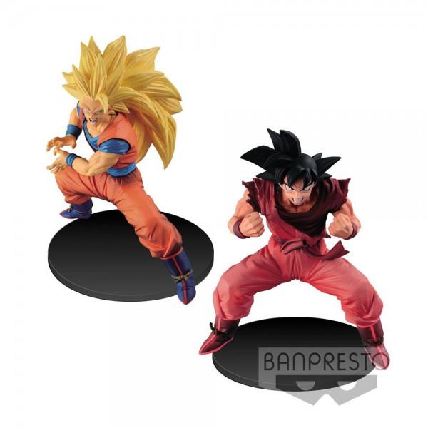 Dragonball Super Son Goku Fes Figuren 14 cm Super Saiyan 3 Goku & Kaioh Ken Son Goku Sortiment (2)